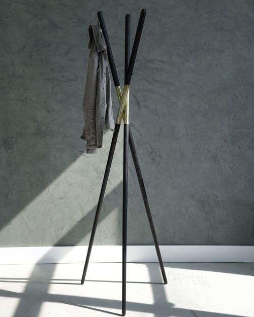 Furniture by Ordinal Indicator seen at Ordinal Indicator Studio, The Bronx - The Hashi Coatrack