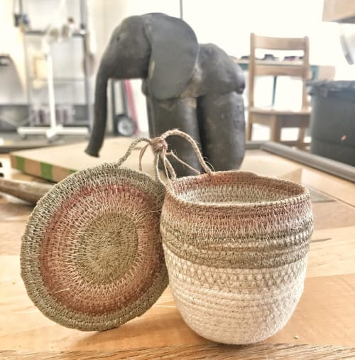 Tableware by MOkun seen at 1890 Bryant Street Studios, San Francisco - Mini Rope Basket