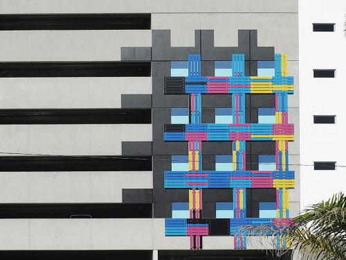 Art & Wall Decor by Elena Manferdini seen at Hermitage Apartment Homes, Saint Petersburg - Blank Facades