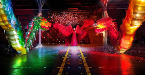 Lighting by Digital Ambiance seen at Los Angeles, Los Angeles - The Unical Dragons