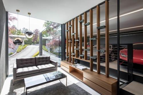 Interior Design by destilat Design Studio GmbH seen at Private Residence, Vienna - Lounge Z