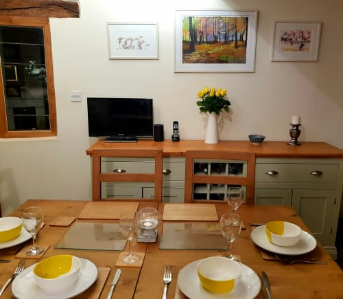 Paintings by Carolina Arbuthnot seen at Private Residence, Solihull - Painting (woodland)
