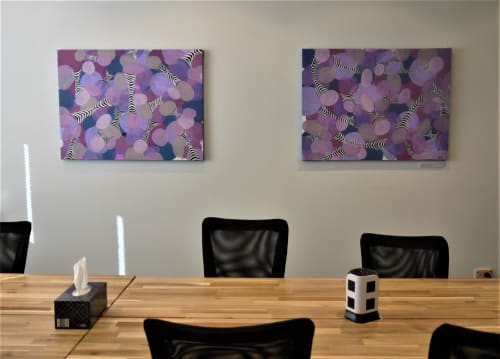 Interior Design by Jessica Harris seen at Croydon Coworking Space, Croydon - You thought you were special but turns out you are just like the rest of us bumping in to eachother