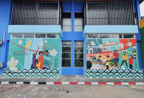 Xaivier Ringer - Street Murals and Murals