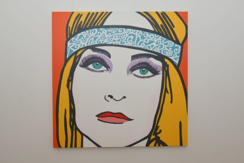 Paintings by Carolyn White Artist seen at Private Residence - Fremantle, WA, Fremantle - Beauty Lost