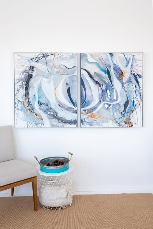 Paintings by Marlene Lowden seen at Private Residence - Travellers