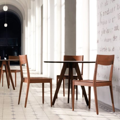 Chairs by Lorenz+Kaz seen at SUITE NY, New York - Calu chair