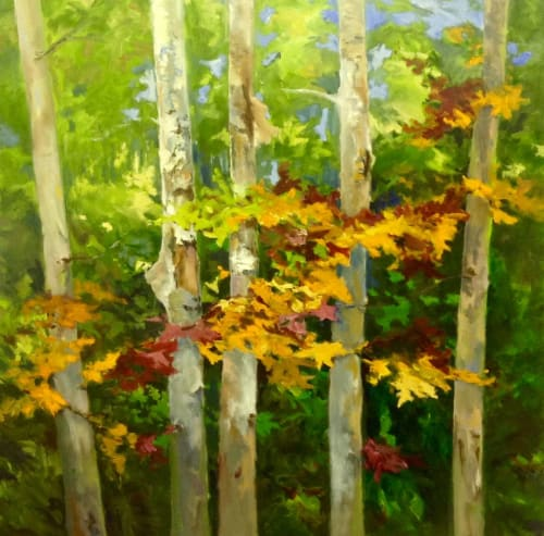 """Paintings by Cathy Boyd seen at Private Residence, Midland - """"Brazen"""""""