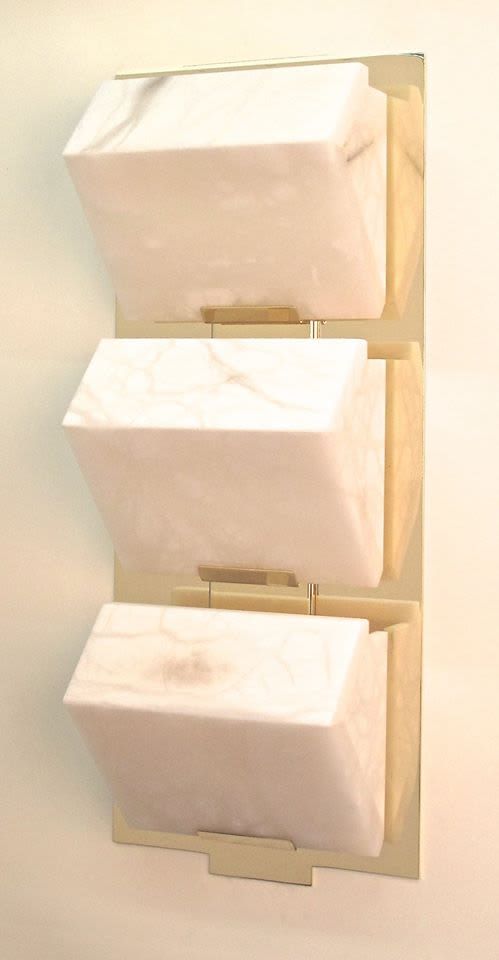 Sconces by Edition Modern at Four Seasons Hotel New York, New York - Block Triple Wall Sconce