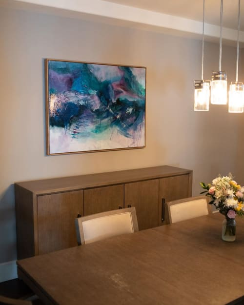 Paintings by Dominique James seen at Private Residence, Clovis - Commissioned Painting