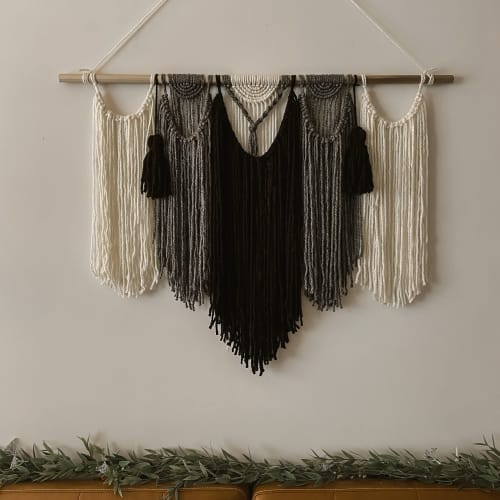Macrame Wall Hanging by Native and Found seen at Creator's Studio, Richmond - The Jocie, Boho Wall Hanging