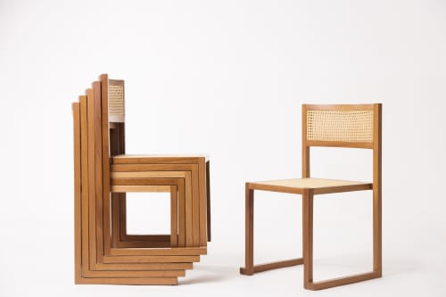 Chairs by 1Nayef Francis seen at Nayef Francis Design Studio, Beirut - Cube Chair