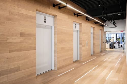 Interior Design by mafi Naturholzboden GmbH seen at DeSimone Consulting Engineers, New York - DeSimone Consulting