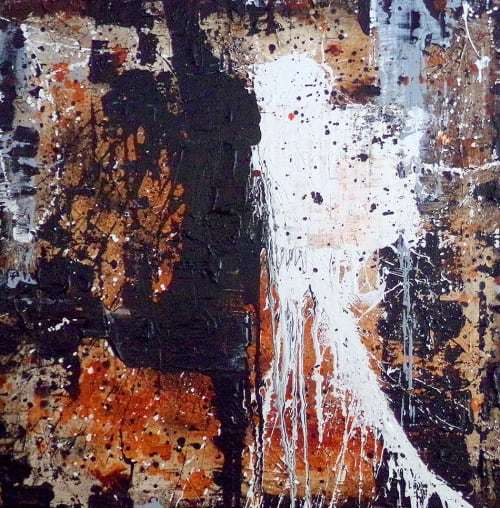 Paintings by Brian Elston Art seen at Private Residence, Chicago - Old World - 36 in. x 36 in.