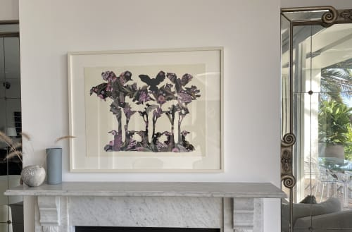 Paintings by Tanya Chaitow seen at Private Residence, Sydney - 'Living in the past, presently' (11)