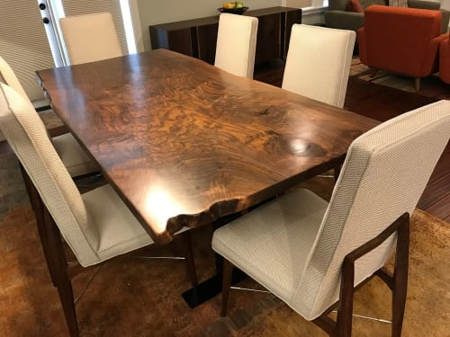 Tables by Elpis & Wood seen at Private Residence, Everett - Dining Table