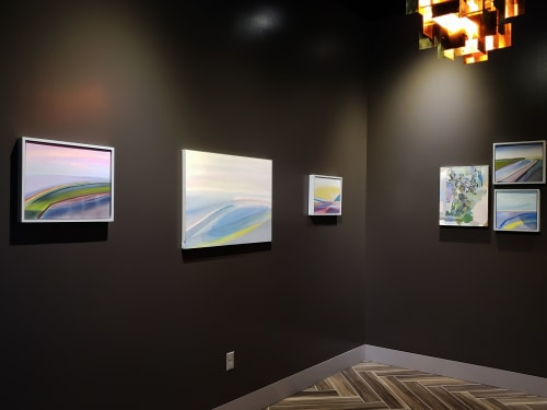 Paintings by Susan Maakestad seen at Memphis, Memphis - Exhibition Installation