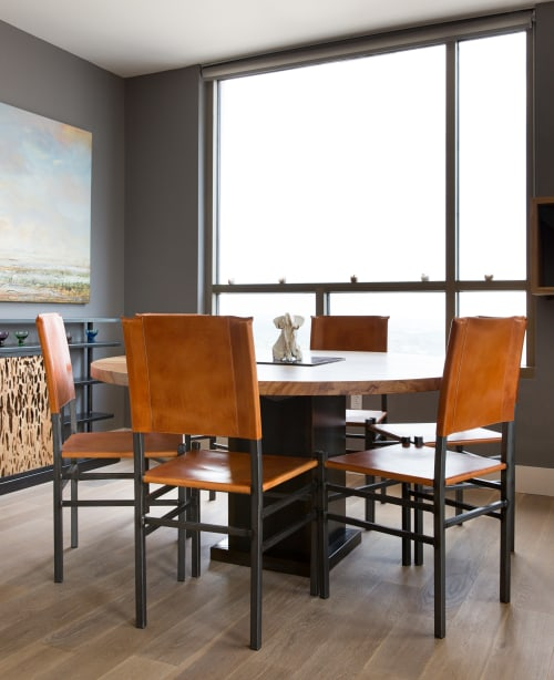 Furniture by Brian Chilton Design seen at Client Residence - Austin, Texas, Austin - Flurry Chairs and Table