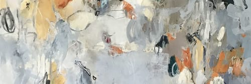 Jane Burton, Abstract Painting