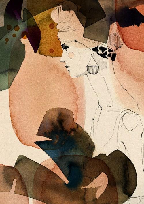 Wallpaper by Ekaterina Koroleva Illustration seen at Berlin, Berlin - Mora