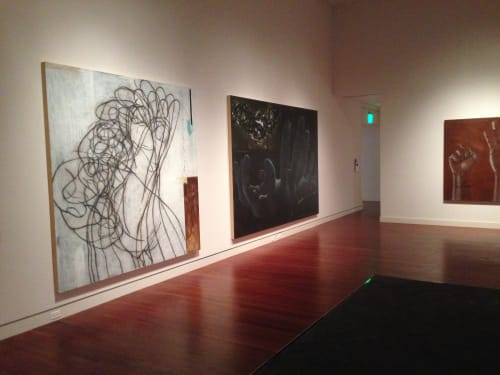Paintings by Andrew Ramiro Tirado seen at Colorado Springs Fine Arts Center, Colorado Springs - Drawing #3 (for Untitled Sculptural Piece, 2014)