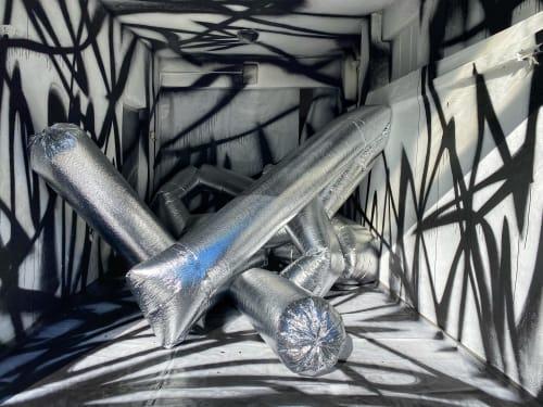 Murals by Patricia Koysova seen at Bratislava, Bratislava - Is Your Garage Too Boring