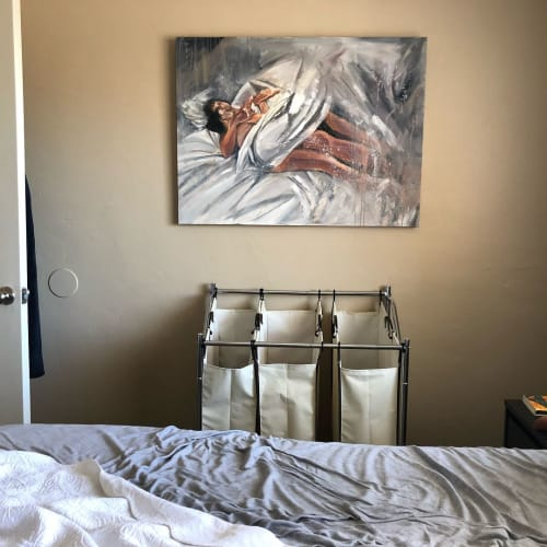 Paintings by Angie Sinclair seen at Private Residence, Wilmington - You Between My Arms painting
