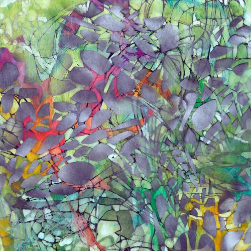 Paintings by Renee DeCarlo seen at The Drawing Room, San Francisco - Murmurations