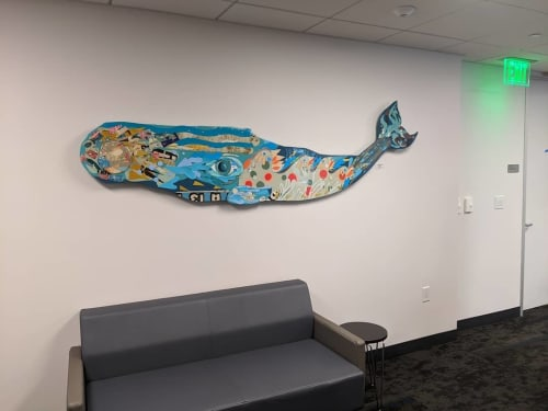 Art & Wall Decor by Fuzz E. Grant seen at San Francisco District Attorney Office, San Francisco - Whale