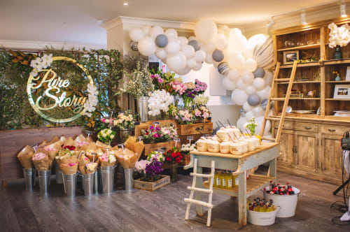Interior Design by Studio Hiyaku seen at Pure Story Events & Flowers, Crows Nest - Pure Story Photography