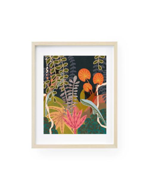 Paintings by Birdsong Prints seen at Creator's Studio, Denver - Scandinavian Modern, 60s Art Print