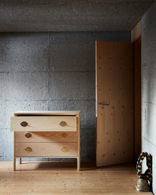 Furniture by Studio Seitz seen at Private Residence, Evolène - Kommode