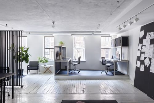 Interior Design by Asa Pingree seen at Lower East Side, New York - WH-O Offices