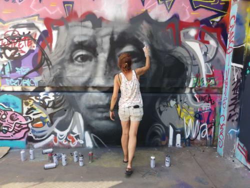 Laura9, Laura Tietjens - Murals and Street Murals