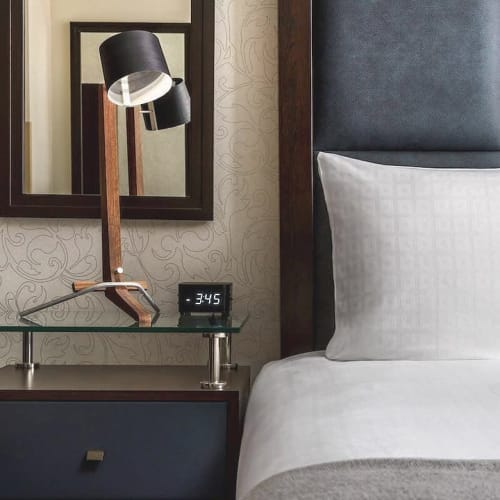 Lamps by Cerno seen at Distrikt Hotel New York City, Tapestry Collection by Hilton, New York - Silva Table Lamp