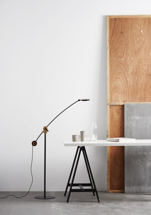 Lamps by SEED Design USA seen at 858 Lind Ave SW, Renton - PLANET Floor Lamp