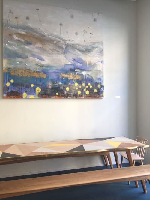 Paintings by margherita martinelli seen at Casa Ramen Super, Milano - Painting