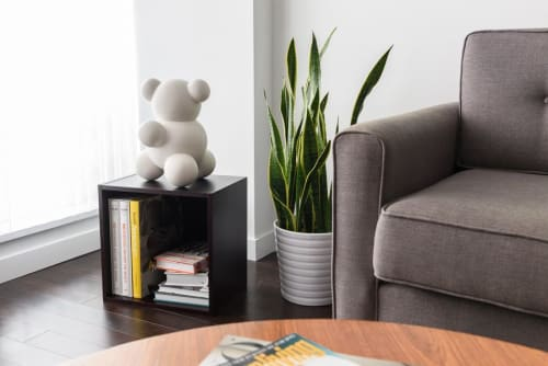 Sculptures by Anyuta Studio seen at Private Residence, Vancouver - MoBear the Molecular Bear