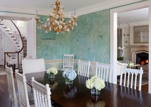 Murals by Nicolette Atelier - Chinoiserie Dining Room
