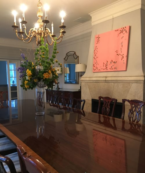 Paintings by Farida Hughes seen at Private Residence, Owings Mills - After School | Oil painting