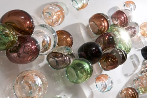 Movement Panel   Sculptures by Notarianni Glass