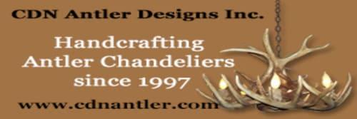 CDN Antler Designs, Inc - Chandeliers and Lighting
