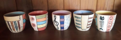 Cécile Brillet, Tierra i fuego ceramics - Tableware and Planters & Vases