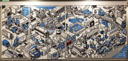 Nigel Sussman - Murals and Art