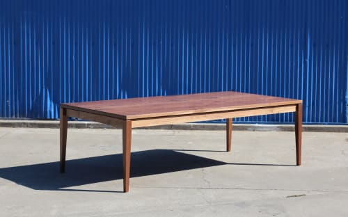 Tables by Steve Tiller seen at Private Residence, New York - Parson's Table