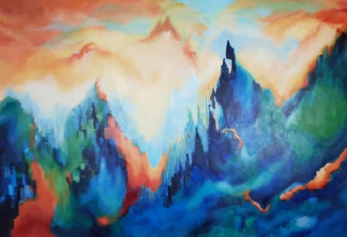 Paintings by Art by JK Bleeg - You're Everything That's Bright