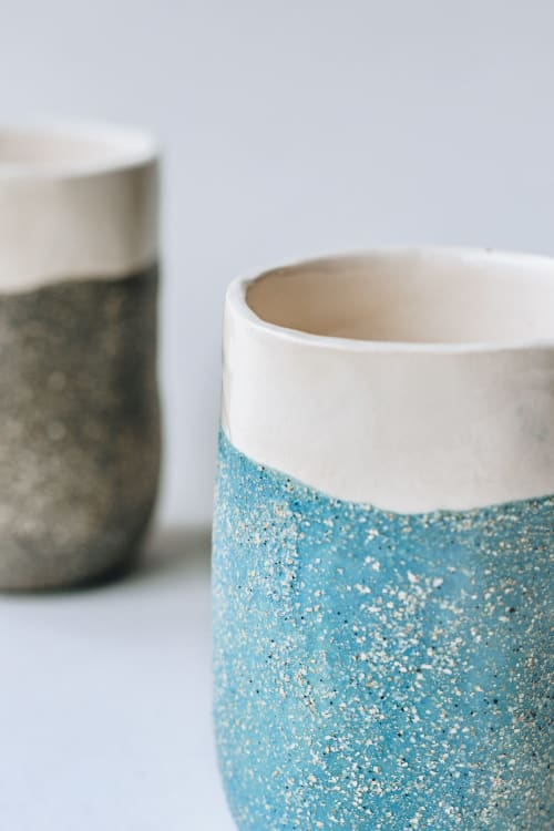Cups by Lipdau Ceramics seen at Lipdau - handmade ceramics boutique, Vilnius - Ceramic Cup