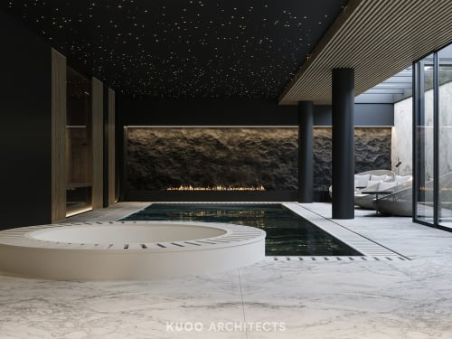 Interior Design by KUOO ARCHITECTS by Katarzyna Kuo Stolarska seen at Private Residence, Warsaw - CHALET HOUSE SPA