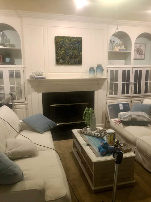 Wall Hangings by Natalie Ventimiglia seen at Private Residence, Virginia Beach - Find It, Fix It