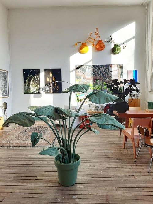 Art & Wall Decor by Driessens & van den Baar WANDSCHAPPEN seen at Gallery Untitled, Rotterdam - Gallery Untitled